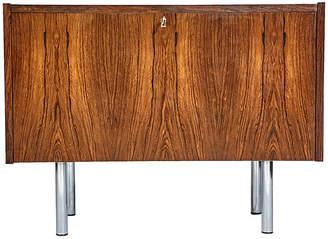 One Kings Lane Vintage Danish Rosewood Drop-Front Cabinet