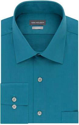Van Heusen Long Sleeve Sateen Dress Shirt