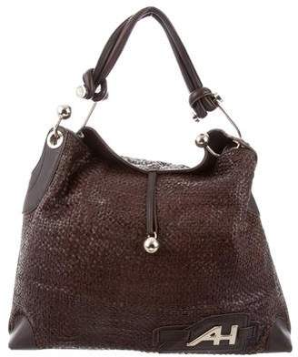 Anya Hindmarch Woven Leather Hobo