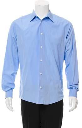 Hermes Point Collar Button-Up Shirt