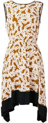 Diane von Furstenberg chain print dress