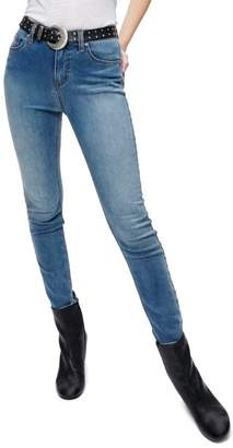 Free People High Rise Crop Jeans