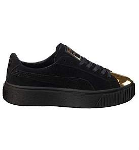 Puma Suede Basket Platform Sneaker