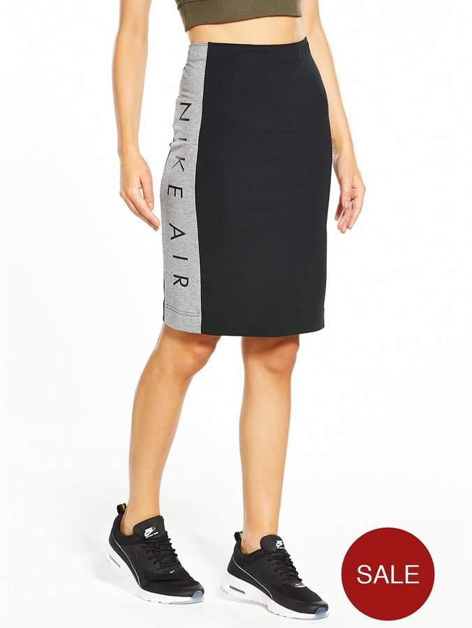 Sportswear Air Skirt - Black/Grey Heather