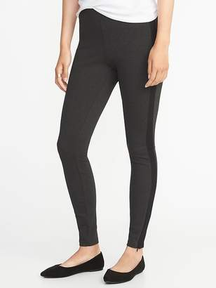 Old Navy High-Rise Stevie Side-Stripe Ponte-Knit Pants for Women