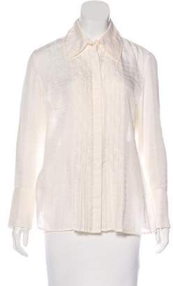 Magaschoni Silk-Blend Top