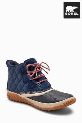 Next Womens Sorel Navy Collegiate Out 'N About Plus Ankle Boot