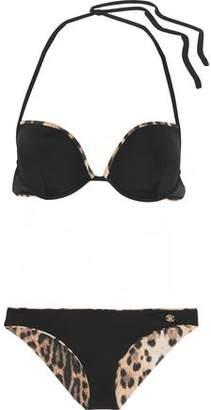 Roberto Cavalli Reversible Halterneck Bikini