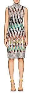 Missoni Women's Diamond-Pattern Wool-Blend Midi-Dress