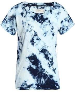 Current/Elliott Tie-Dyed Cotton T-Shirt
