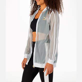 Puma Women's Exposed Mesh Fashion T7 Track Jacket