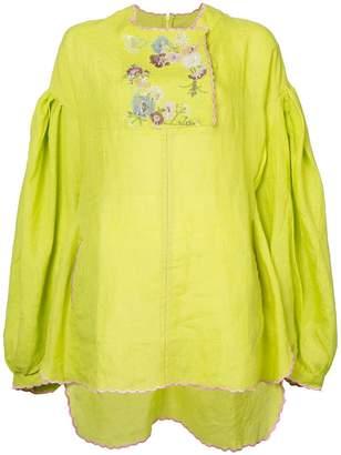 Natasha Zinko embroidered tunic top