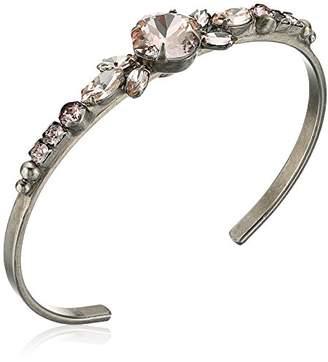 Sorrelli Satin Blush Sweet Dreams Cuff Bracelet