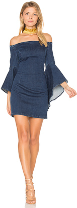 Bardot Lucinda Denim Dress $109 thestylecure.com