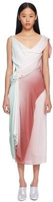 Sies Marjan June Silk Rosette Dress