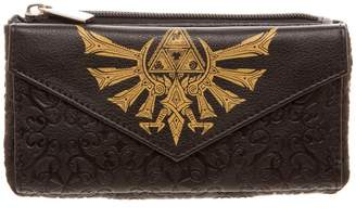 Bioworld Officially Licensed Women's The Legend of Zelda Tri-force Front Flap Purse