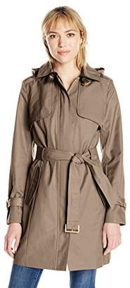 Cole Haan Women's Single Breasted Trench Coat