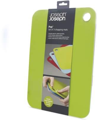 Joseph Joseph Pop 3-pc. Chopping Mat Set