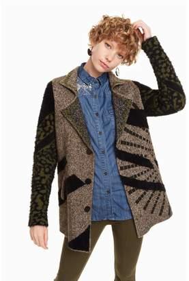 Desigual Hidden Knit Blazer-Coat