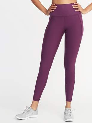 Old Navy High-Rise Built-In Sculpt 7/8-Length Compression Leggings for Women