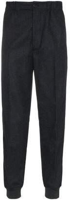 Alexander McQueen Zip-cuff wool trousers