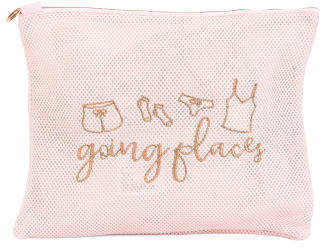 Going Places Mesh Pouch