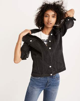 Madewell The Oversized Jean Jacket in Lunar Wash