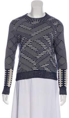 Billy Reid Crew Neck Long Sleeve Sweater