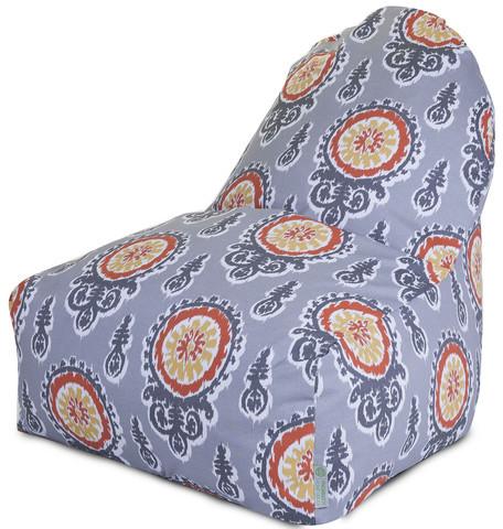 Majestic Home Kick-It Chair Citrus Michelle