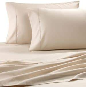 Grace Home Fashions 600 Thread Count Cotton Rich Easy Care Solid 4-Piece Sheet Set