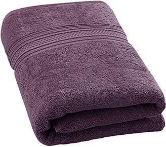 Utopia Towels 700 GSM Premium Cotton Extra Large Bath Towel (35 x 70 Inches) Soft Luxury Bath Sheet - Plum