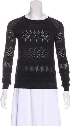 Band Of Outsiders Long Sleeve Knit Top