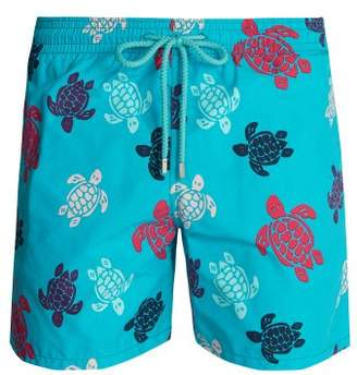 Vilebrequin - Moorea Turtle Print Swim Shorts - Mens - Multi