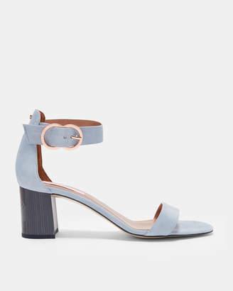 Ted Baker QARVAS Low block heel ankle strap sandals