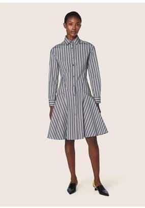 Derek Lam Long Sleeve Button-Down Shirt Dress