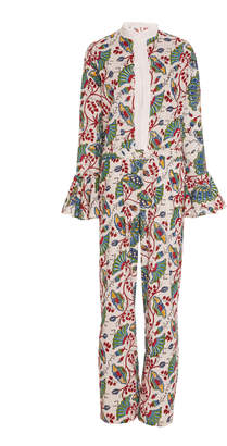 Bohemia Alix of Limited Edition India Block Print Jumpsuit