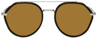 Christian Dior Black 219 Sunglasses