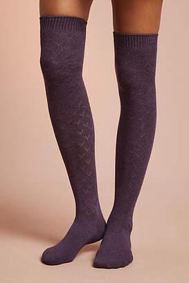 Tavi Noir Ellis Pointelle Knee-High Socks