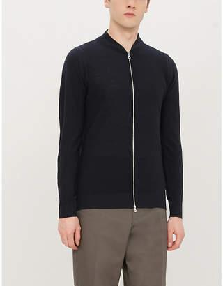 John Smedley 6.Singular wool bomber jacket