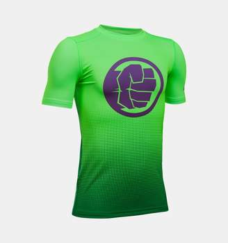 Under Armour Boys' Alter Ego Marvel Fitted Baselayer