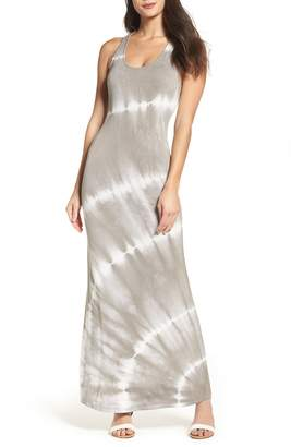 Fraiche by J Tie Dye Racerback Maxi Dress