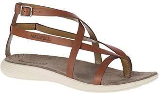 Merrell Women's Duskair Seaway Thong Leather Sandal