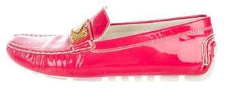 Louis Vuitton Patent Leather Flat Loafers