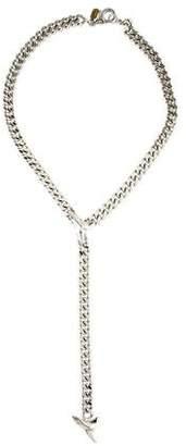 Fallon Shark Tooth Lariat Necklace