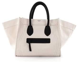 Celine Pre-owned: Phantom Handbag Canvas Large.