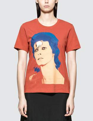 Undercover David Bowie T-shirt in Orange