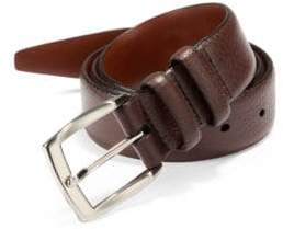Saks Fifth Avenue COLLECTION Tumbled Leather Belt