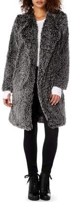Michael Stars Cozy Faux Fur Long Coat