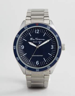 Ben Sherman BS007USM Bracelet Watch In Silver