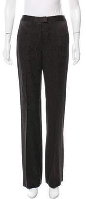 Ungaro Wool & Silk-Blend Mid-Rise Pants